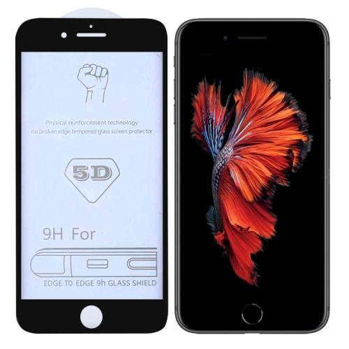 9H 5D Full Glue Full Screen Tempered Glass Film for iPhone 6 / 6s