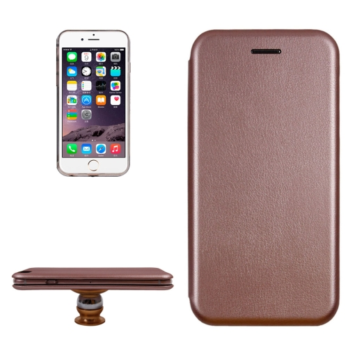 Buy For iPhone 6 Magnetic Suction Style Horizontal Flip Leather Case with Holder & Card Slots (Rose Gold) for $2.80 in SUNSKY store
