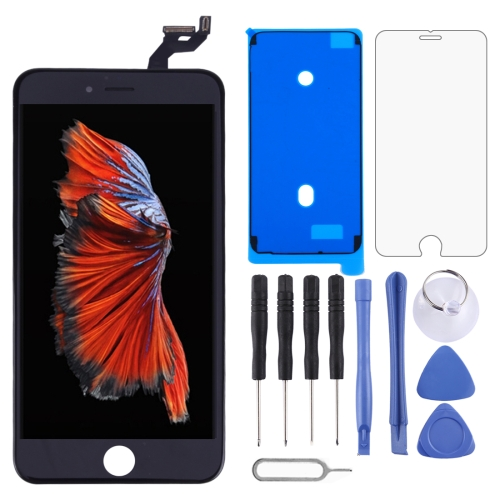 LCD Screen and Digitizer Full Assembly with Frame for iPhone 6s Plus(Black)