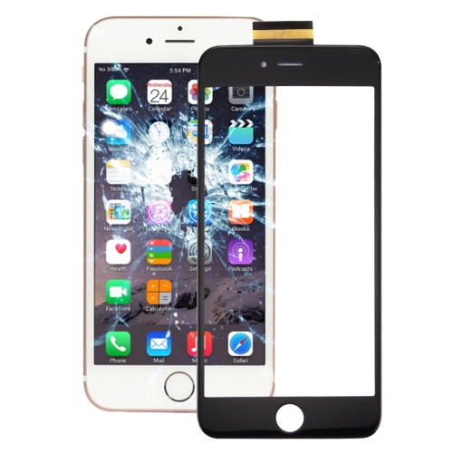 for iPhone 6s Plus Touch Panel with OCA Optically Clear Adhesive(Black)
