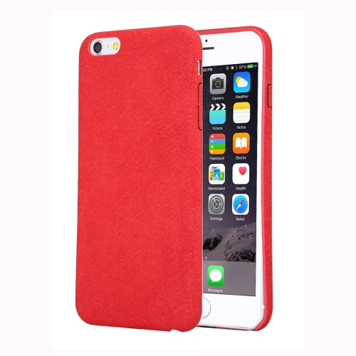 Buy For iPhone 6 Plus & 6s Plus Ultra Fiber TPU Protective Back Case, Red for $2.33 in SUNSKY store
