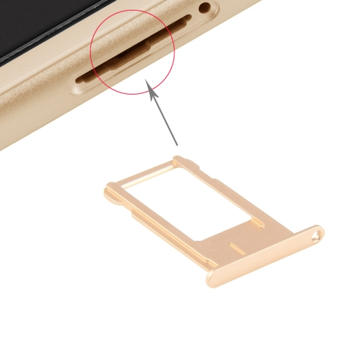 Card Tray for iPhone 6 Plus (Gold)