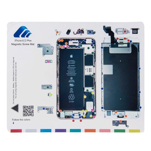Magnetic Screws Mat For iPhone 6s Plus , Size: 24.9cm x 19.9cm