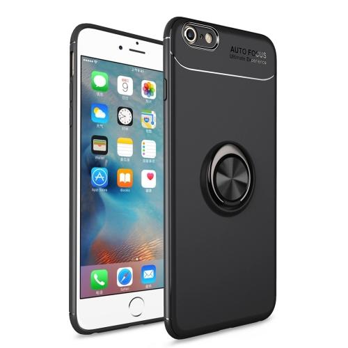 где купить Metal Ring Holder 360 Degree Rotating TPU Case for iPhone 6 Plus & 6s Plus (Black) по лучшей цене