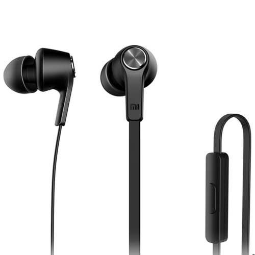 Original Xiaomi HSEJ02JY Basic Edition Piston In-Ear Stereo Bass Earphone With Remote and Mic, For iPhone, iPad, iPod, Xiaomi, Samsung, Huawei and Other Android Smartphones(Black) bidenuo g360 stylish in ear earphone w microphone for iphone ipad ipod black 3 5mm plug