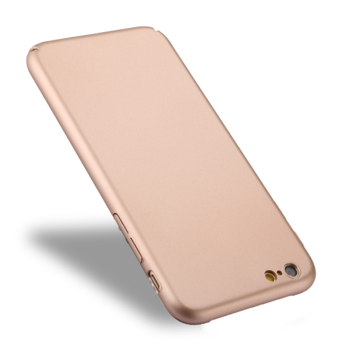 Buy For iPhone 6 Plus & 6s Plus Fully Wrapped Drop-proof PC Protective Case Back Cover, Gold for $1.27 in SUNSKY store