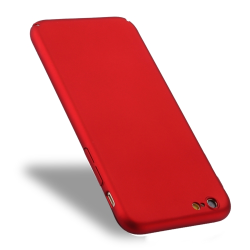 Buy For iPhone 6 Plus & 6s Plus Fully Wrapped Drop-proof PC Protective Case Back Cover, Red for $1.27 in SUNSKY store