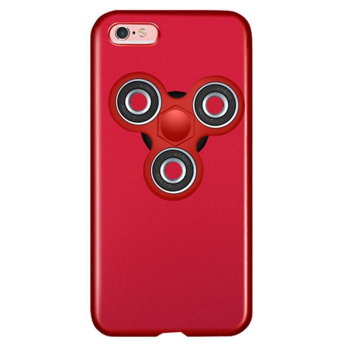 For iPhone 6 Plus & 6s Plus Triangle Gyro EDC Fidget Hand Spinner Protective Back Cover Case