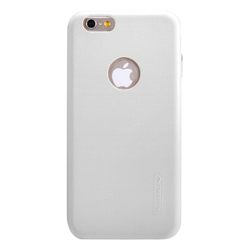 NILLKIN Victoria Leather Cover for iPhone 6 Plus & 6s Plus Leather Surface Microfiber Lining Protective Case Back Cover, White