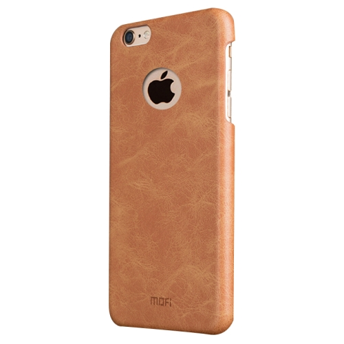 Buy MOFI for iPhone 6 Plus & 6s Plus Crazy Horse Texture Leather Surface PC Protective Case Back Cover, Brown for $3.74 in SUNSKY store