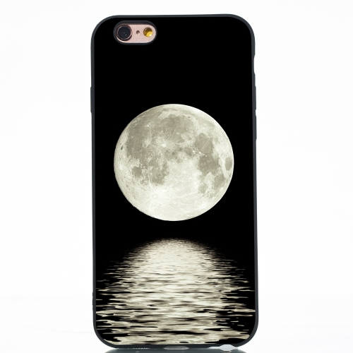 Moon Painted Pattern Soft TPU Case for iPhone 6 Plus & 6s Plus