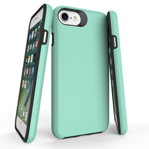 Buy For iPhone 6 Plus & 6s Plus PC + TPU Chrome Plated Press Button Anti-slip Protective Back Cover Case, Green for $2.91 in SUNSKY store