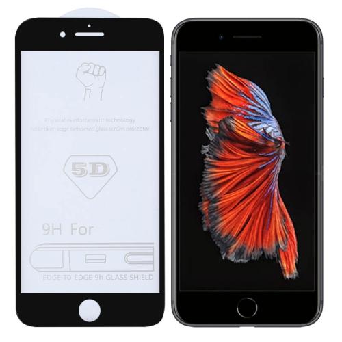 9H 5D Full Glue Full Screen Tempered Glass Film for iPhone 6 Plus / 6s Plus