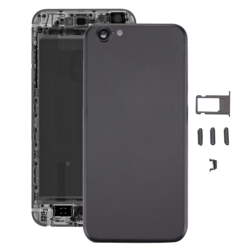 Buy iPartsBuy 5 in 1 Full Assembly Metal Housing Cover with Appearance Imitation of iPhone 7 for iPhone 6s, Including Back Cover (Big Camera Hole) & Card Tray & Volume Control Key & Power Button & Mute Switch Vibrator Key, No Headphone Jack, Black for $19.83 in SUNSKY store