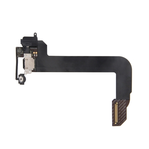 Charging Port + Audio Flex Cable for iPod Touch 6 (Black)