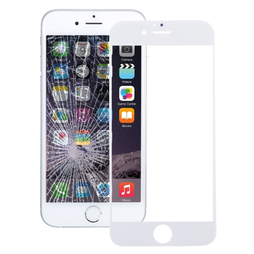 Front Screen Outer Glass Lens for iPhone 7 (White)