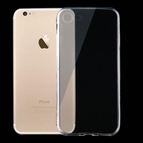 For iPhone 8 & 7 0.75mm Ultra-thin Transparent TPU Protective Case(Transparent) фото
