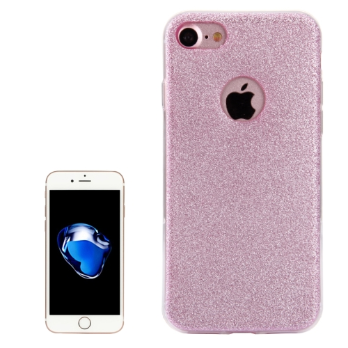 Buy For iPhone 8 & 7 Glitter Powder Soft TPU Protective Cover Case, Pink for $1.45 in SUNSKY store