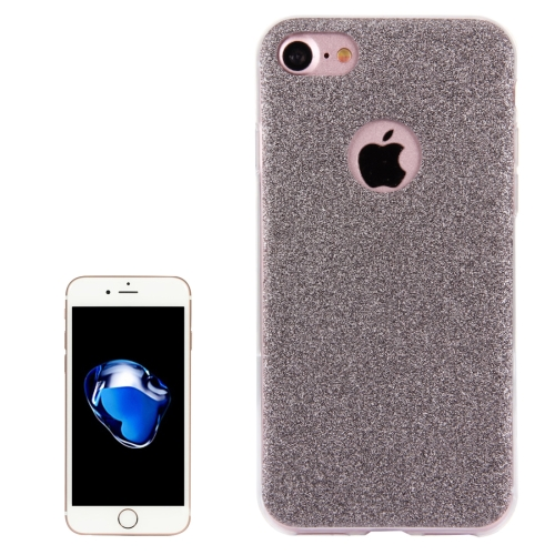 Buy For iPhone 8 & 7 Glitter Powder Soft TPU Protective Cover Case, Grey for $1.45 in SUNSKY store