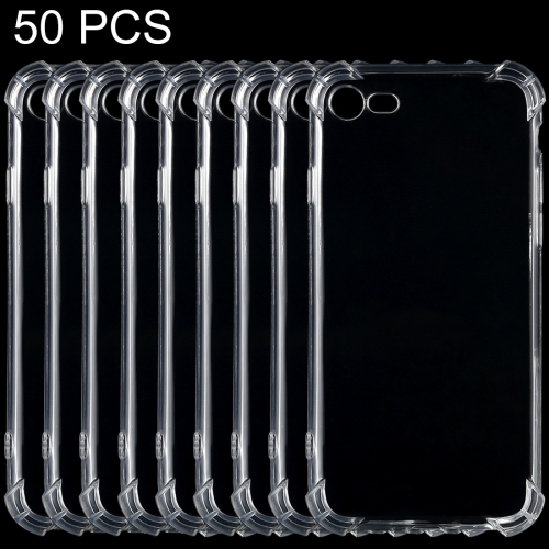 Buy 50 PCS for iPhone 8 & 7 Shock-resistant Cushion TPU Protective Case for $10.34 in SUNSKY store