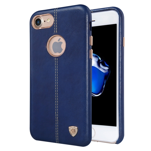 Buy NILLKIN Englon Case for iPhone 7 Business Style Crazy Horse Leather Surface PC Protective Case Back Cover with Soft Microfiber Lining (Dark Blue) for $6.36 in SUNSKY store