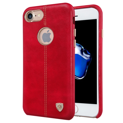 Buy NILLKIN Englon Case for iPhone 7 Business Style Crazy Horse Leather Surface PC Protective Case Back Cover with Soft Microfiber Lining, Red for $6.36 in SUNSKY store