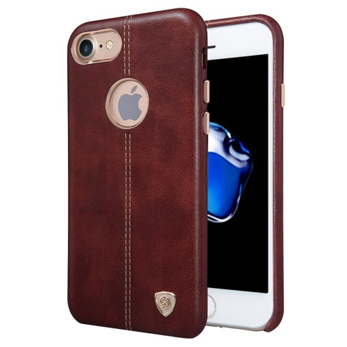 Buy NILLKIN Englon Case for iPhone 7 Business Style Crazy Horse Leather Surface PC Protective Case Back Cover with Soft Microfiber Lining, Brown for $6.36 in SUNSKY store