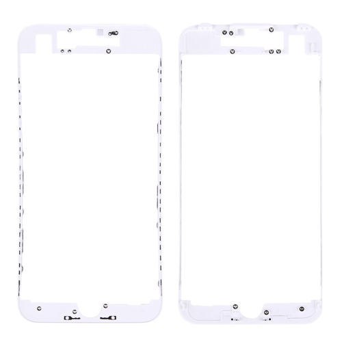 Front LCD Screen Bezel Frame for iPhone 7(White)