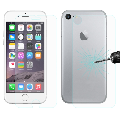 ENKAY for iPhone 8 & iPhone 7 Hat-Prince 0.26mm 9H+ Surface Hardness 2.5D Explosion-proof Tempered Glass Front + Back Film