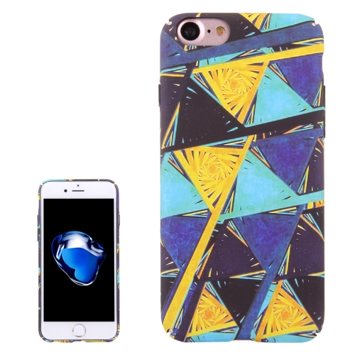 Buy For iPhone 8 & 7 Water Decals Color Triangle Design Pattern PC Protective Case for $2.96 in SUNSKY store