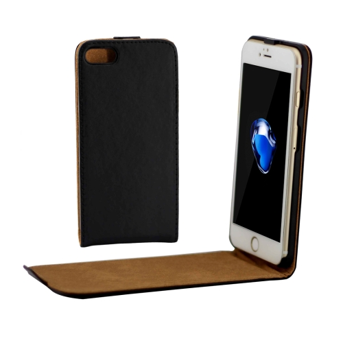 Buy For iPhone 8 & 7 Khaki Lining Vertical Flip Leather Case, Black for $2.33 in SUNSKY store