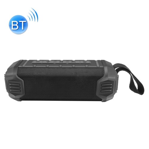 NewRixing NR-1000 16W Outdoor Wireless Bluetooth Stereo Speaker Subwoofer Sound Support TWS Function Sports Speaker (Black)