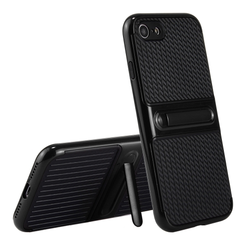 Buy For iPhone 8 & 7 Trunk Shape TPU+ABS Oil Spout Craft Combination Protective Case with Holder, Black for $2.02 in SUNSKY store