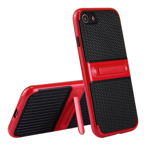 Buy For iPhone 8 & 7 Trunk Shape TPU+ABS Oil Spout Craft Combination Protective Case with Holder, Red for $1.92 in SUNSKY store