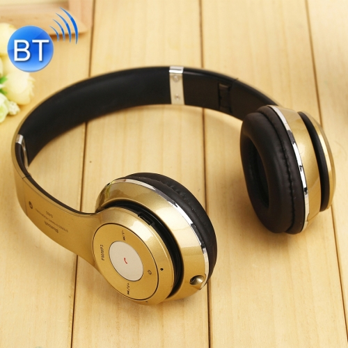 Buy S460 Headband Folding Stereo Wireless Bluetooth Headphone Headset, Support 3.5mm Audio & Hands-free Call & TF Card & FM for $8.76 in SUNSKY store