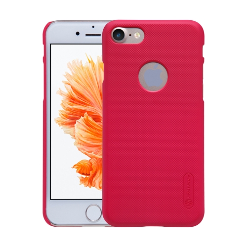 Buy NILLKIN Frosted Shield for iPhone 7 Concave-convex Texture PC Protective Case Back Cover, Red for $3.85 in SUNSKY store