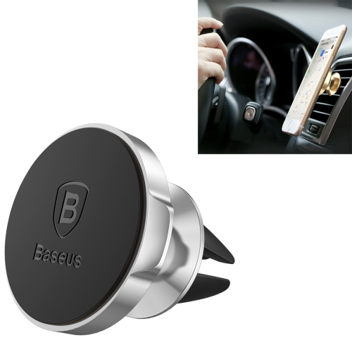 Buy Baseus Small Ears Series Magnetic Suction Bracket 360 Degrees Rotation Car Air Outlet Vent Mount Phone Holder Stand for $4.27 in SUNSKY store