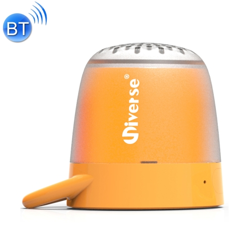 Universe Portable Loudspeakers Mini Wireless Bluetooth V4.2 Speaker, Support Hands-free / Support TF Music Player (Orange) musicbook style speaker hifi wireless bluetooth portable speaker powerbank rechargeable landspeakers support nfc tf card