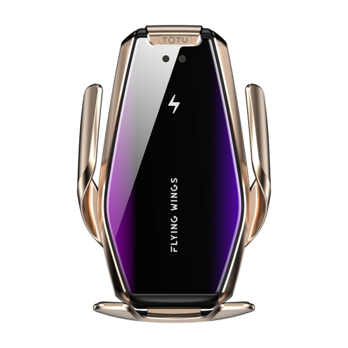 TOTUDESIGN S7 King Series II Car Induction Wireless Charger Mount Holder(Gold) фото