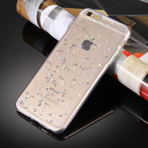 Buy For iPhone 8 & 7 Transparent Stars Glitter Powder Soft TPU Protective Case for $1.28 in SUNSKY store