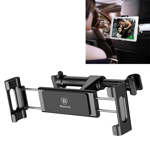 Baseus SUHZ-01 Clip-on Rear Seat Car Bracket for 4.7 - 12.9 inch Mobile Phone / Tablet(Black)