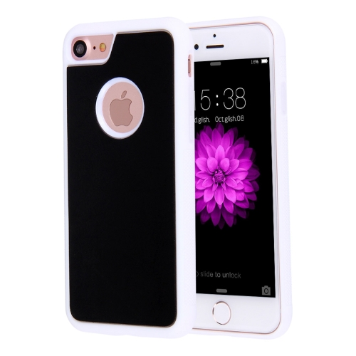 Buy For iPhone 8 & 7 Anti-Gravity Magical Nano-suction Technology Sticky Selfie Protective Case, White for $1.90 in SUNSKY store