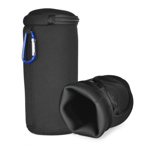 Portable Shockproof Bluetooth Speaker Soft Protective Box Storage Bag for JBL Pulse3 (Black)