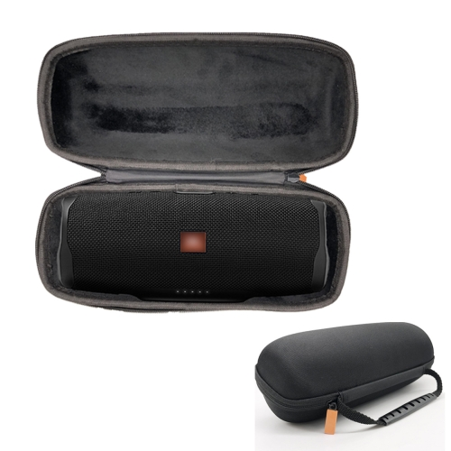Portable Shockproof Bluetooth Speaker Protective Box Storage Bag for JBL Charge4 (Black)