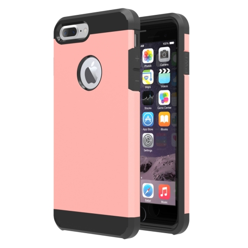 Buy For iPhone 8 Plus & 7 Plus Separable Corselet TPU + PC Combination Case (Rose Gold) for $1.62 in SUNSKY store