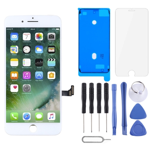 Original LCD Screen and Digitizer Full Assembly for iPhone 7 Plus(White) фото
