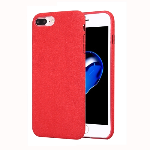 Buy For iPhone 8 Plus & 7 Plus Ultra Fiber TPU Protective Back Case, Red for $2.33 in SUNSKY store