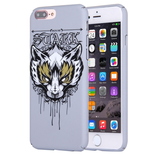 Buy For iPhone 8 Plus & 7 Plus Water Decals Cartoon Animal Fox Pattern PC Protective Case for $2.76 in SUNSKY store