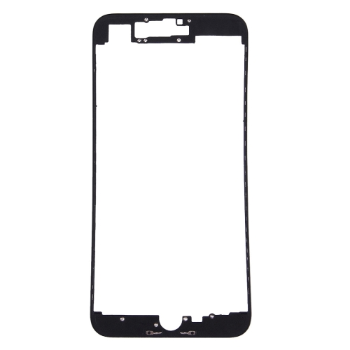 Front LCD Screen Bezel Frame for iPhone 7 Plus(Black)