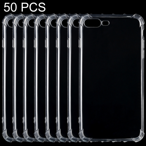 Buy 50 PCS for iPhone 8 Plus & 7 Plus Shock-resistant Cushion TPU Protective Case for $10.31 in SUNSKY store